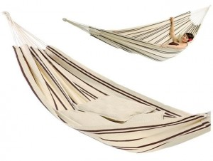Hamak dwuosobowy BARBADOS CAPPUCCINO 230x150cm